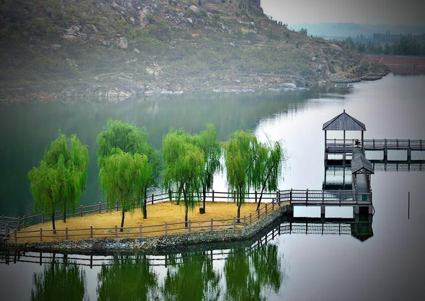 tianmeng mountain park zhidongshi
