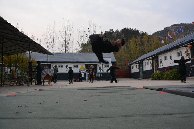 Kungfu training4