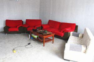 teaand movie room